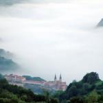 Panorámica de la Basílica de Covadonga